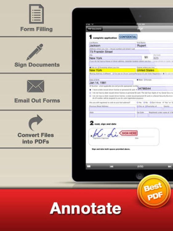 PDF Editor Pro - for Annotate Adobe Acrobat PDFs Fill Forms& Sign Documents screenshot-4