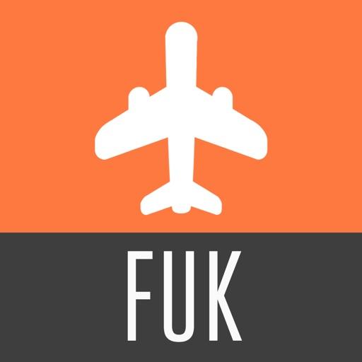 Fukuoka Travel Guide with Offline City Street Map