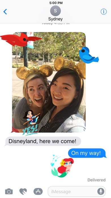 Disney Stickers: Princess screenshot four