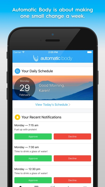Automatic Body — Weight Loss Program and Community
