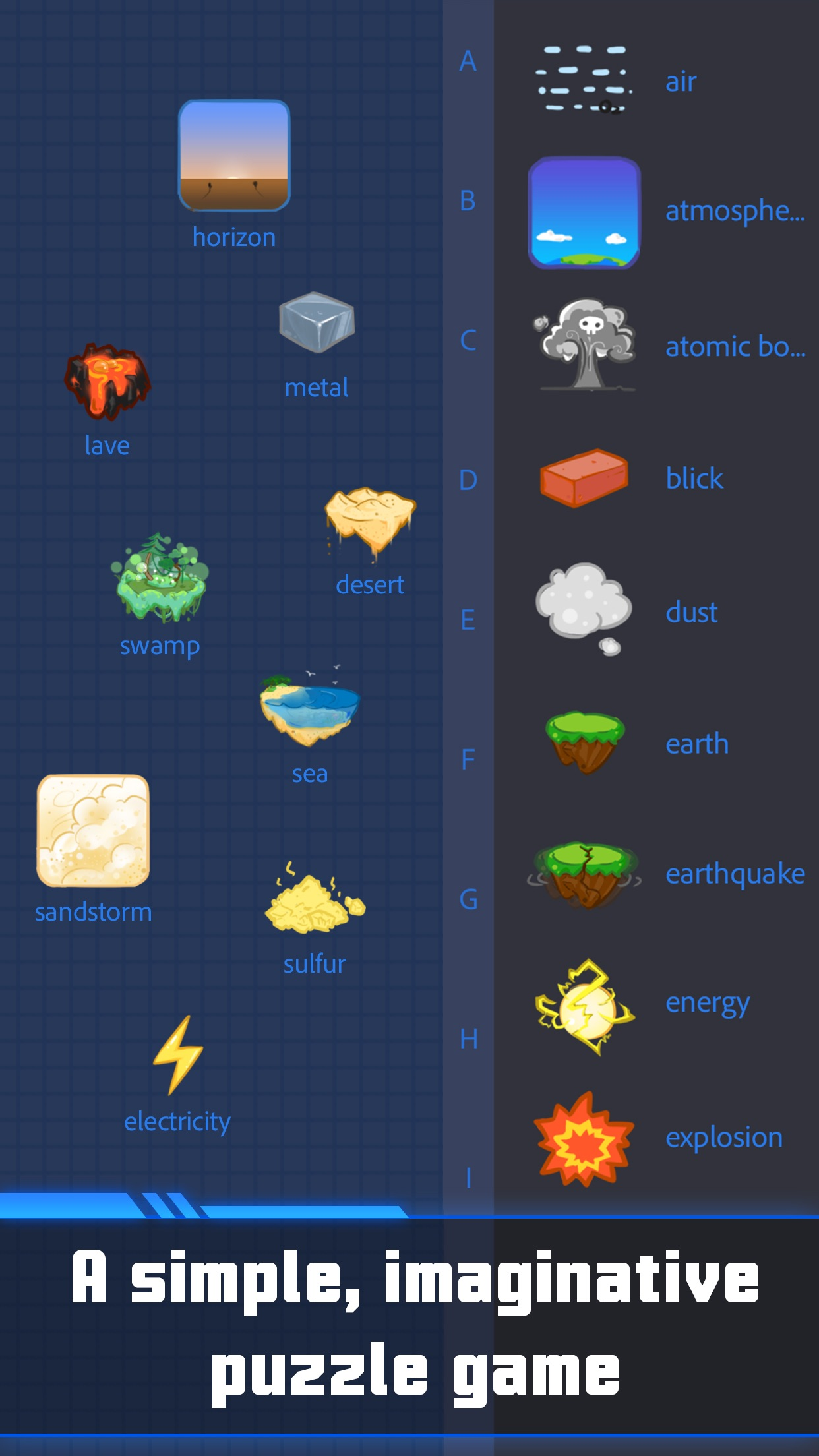 The Creator - Mix Elements to Create New Items! Screenshot