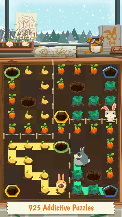 Patchmania - A Puzzle About Bunny Revenge! screenshot-1