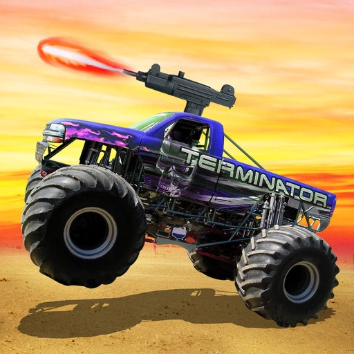 Monster truck Offroad Shooting - Free Racing Game iOS App