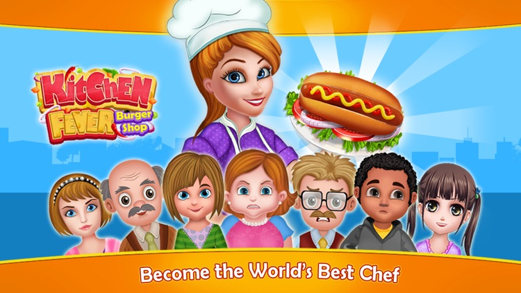 Kitchen Fever Burger Shop