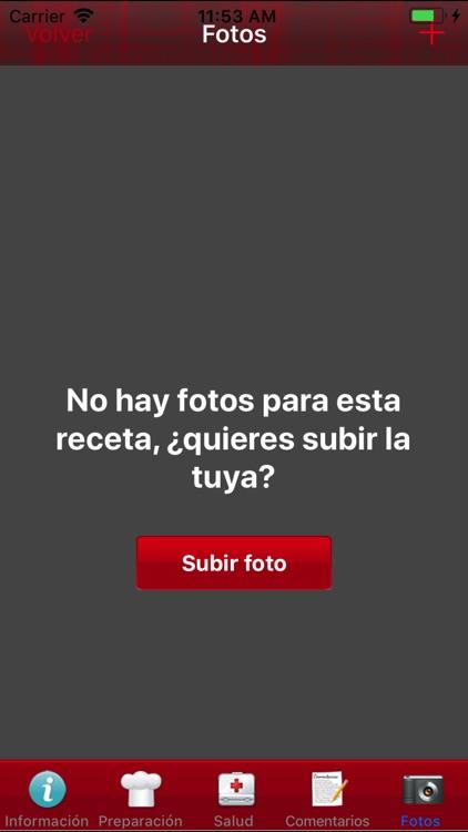 Recetas screenshot-3