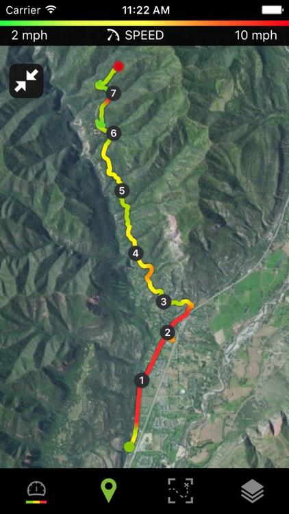 Runtastic Mountain Bike GPS Ride & Trails Tracker screenshot-4