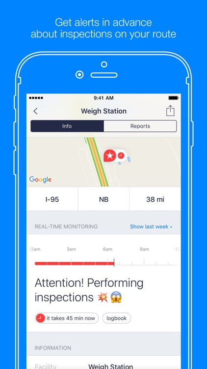 Jack Reports – truckers app screenshot-1