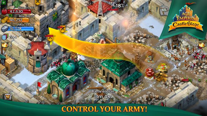 Age of Empires: Castle Siege Screenshot