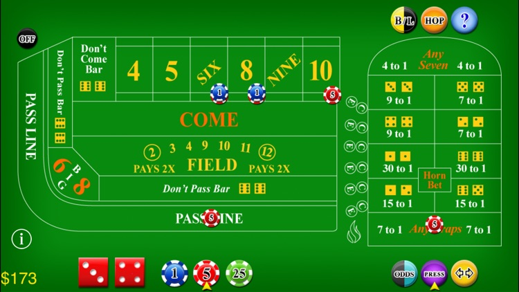 Craps Lite screenshot-0