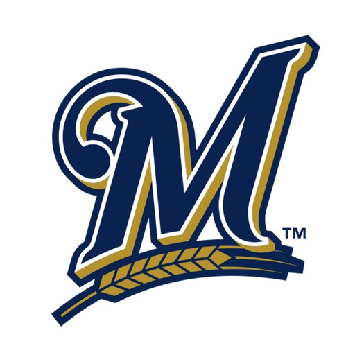 Milwaukee Brewers 2016 MLB Sticker Pack