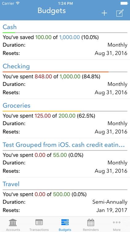 ClearCheckbook screenshot-3