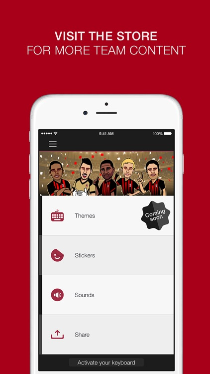 AC Milan Official Keyboard screenshot-4