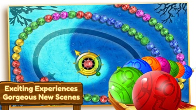 Ocean Marble Blast:Legend Shot screenshot one