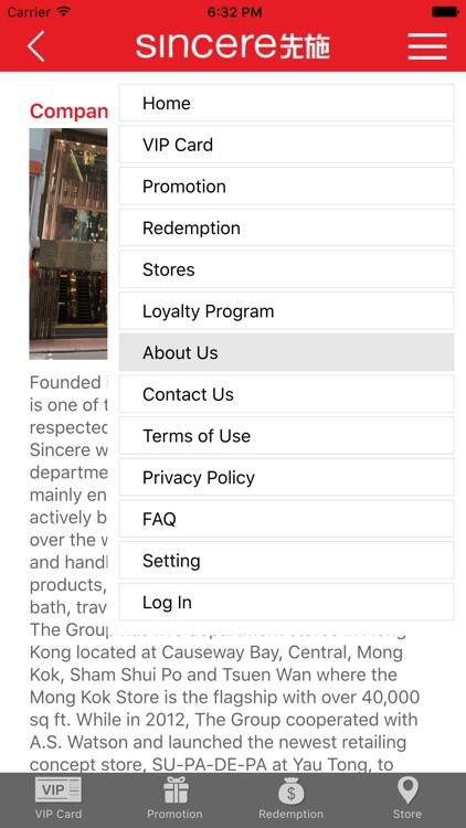 Sincere Department Store 先施百貨 screenshot-3