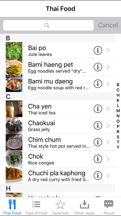 Guide To Thai Food review screenshots