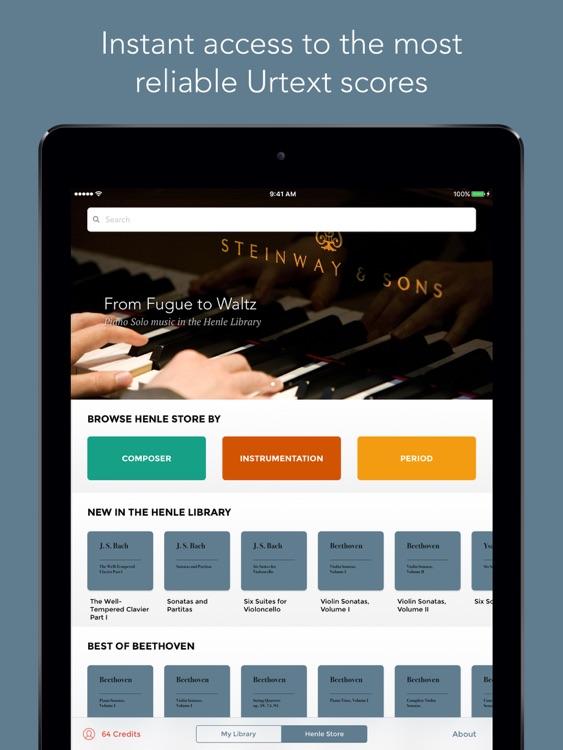 Henle Library – the Urtext score reader screenshot-0