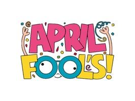 Happy April Fools Day Sticker