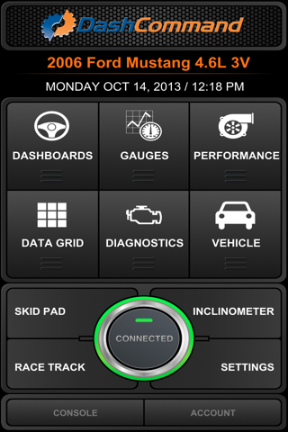 DashCommand - OBD-II gauge dashboards, scan tool screenshot 3
