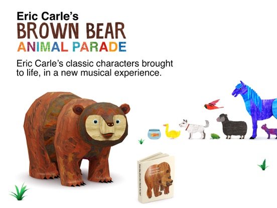 Eric Carle's Brown Bear Animal Parade For iOS Hits Lowest Price In Six Months