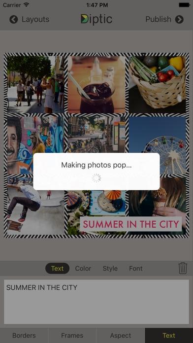 Screenshot for Diptic in Philippines App Store