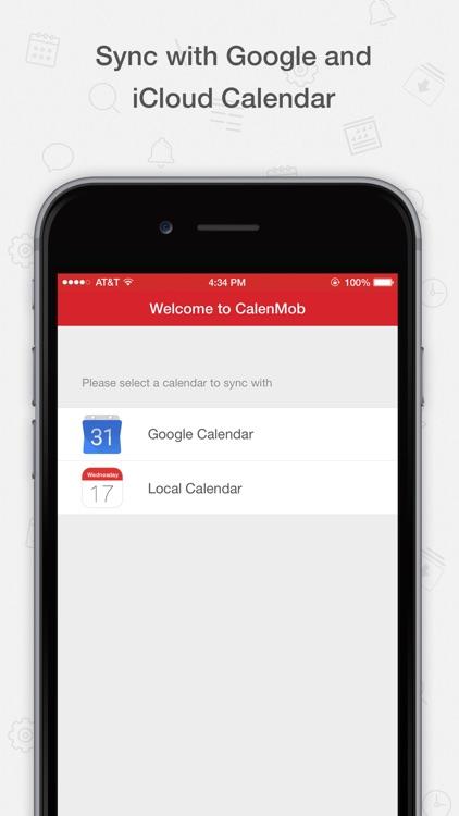 Tiny Calendar - Sync with Google Calendar app image