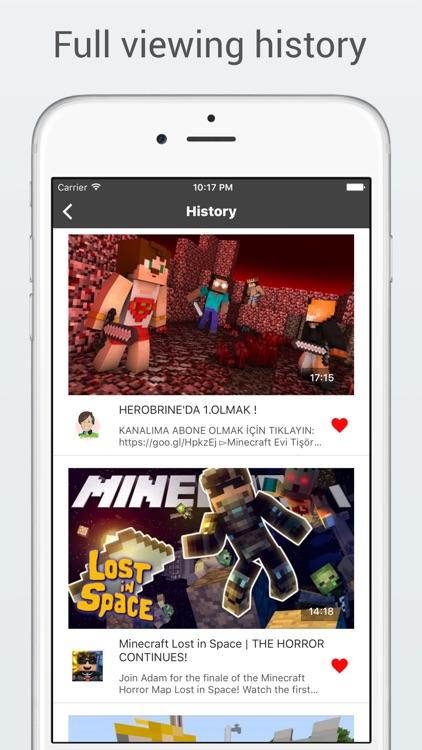 MineHub - Best videos and tutorials for Minecraft screenshot-3