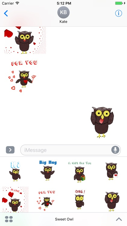 Sweet Owl Stickers