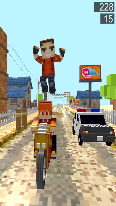Pixel hero Survival Run 3D Games