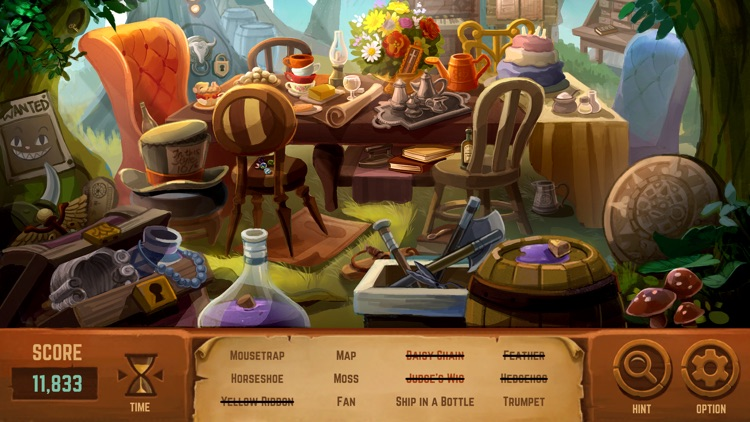 Alice in Wonderland: A Hidden Object Game screenshot-0