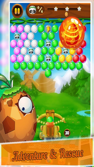 Candy Bubble Bear - Rescue Baby screenshot three