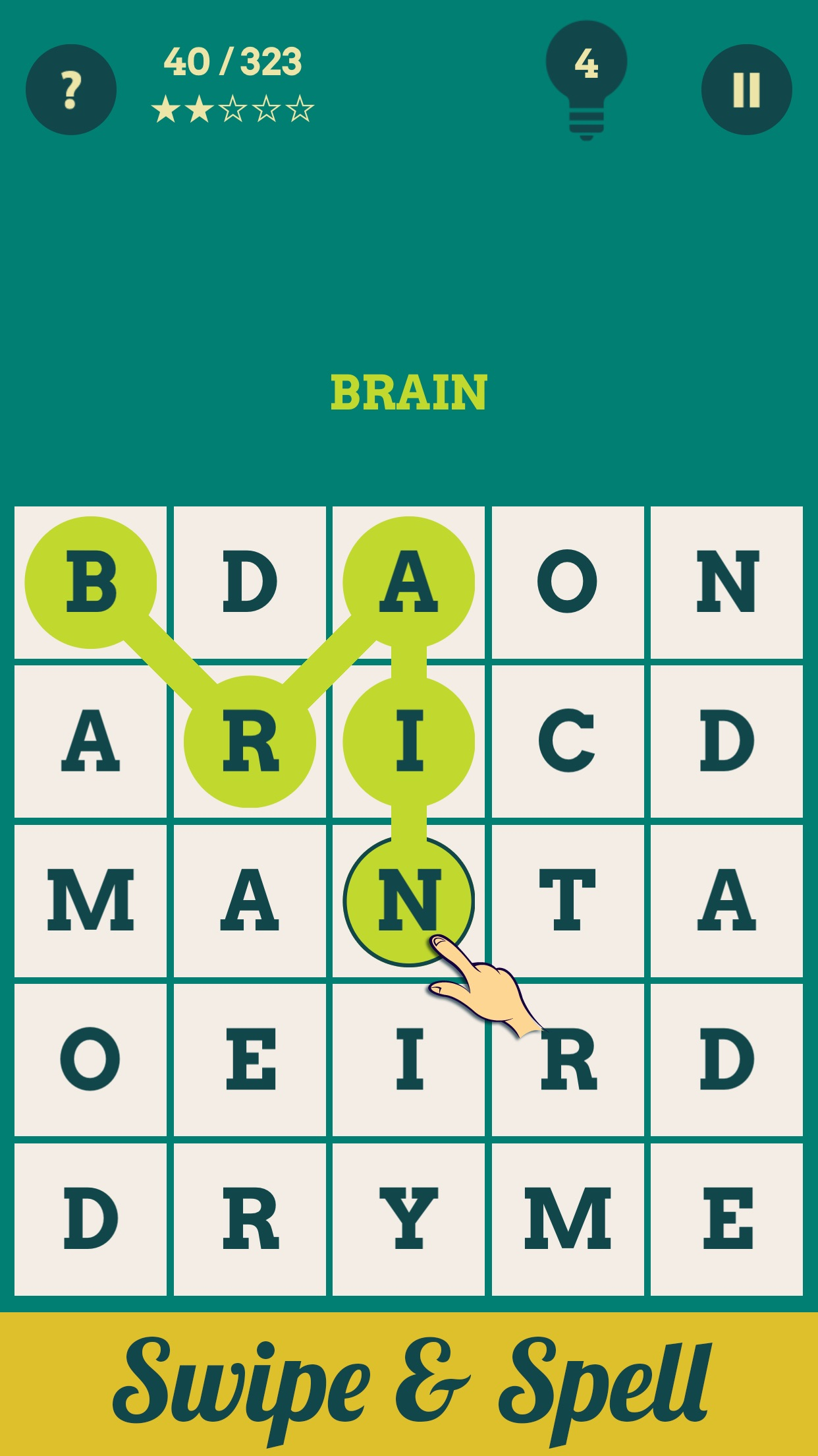 Brain Games : Words & Numbers for Brain Training Screenshot