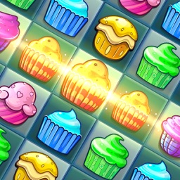 CupCake Crush Pop Legend - Candy Match 3 Game Free