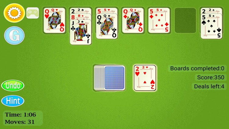 Golf Solitaire Mobile screenshot-3