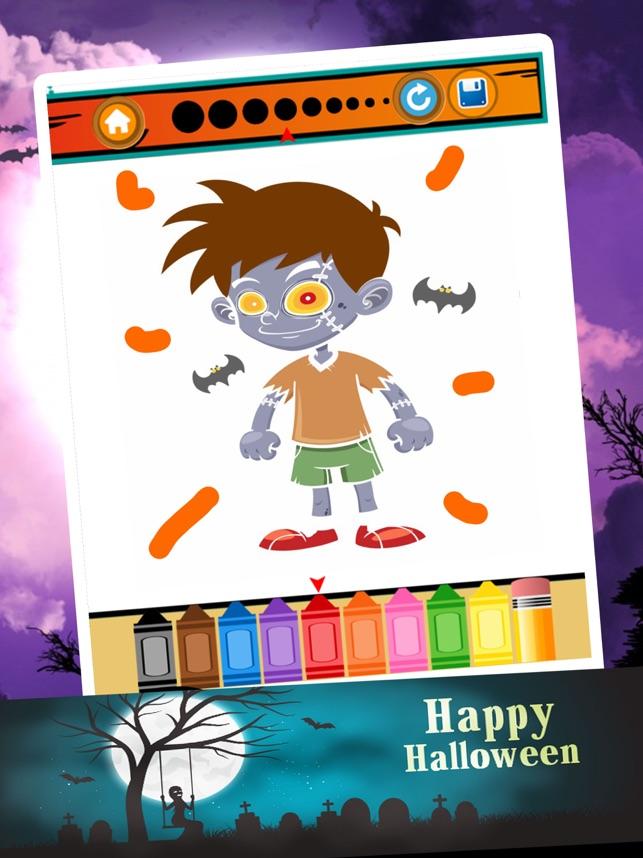 Niedlich Halloween Farbseiten Für Kinder Galerie - Framing ...
