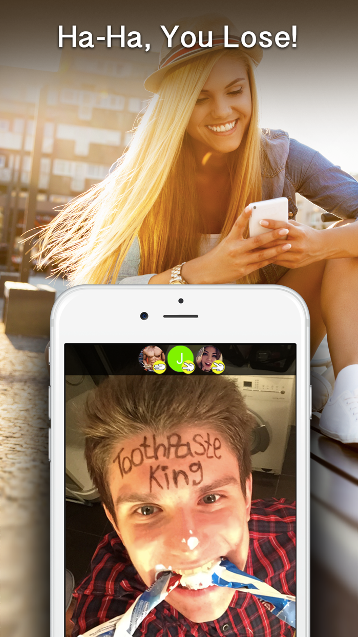 BetChat - free dating chat and random bet app Screenshot
