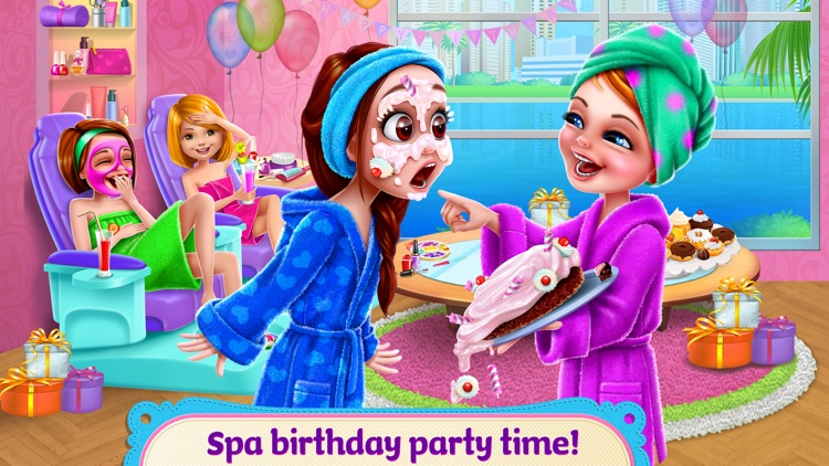 Spa Birthday Party!