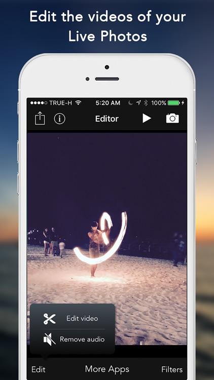 Live Editor - Edit your Live Photos screenshot-3