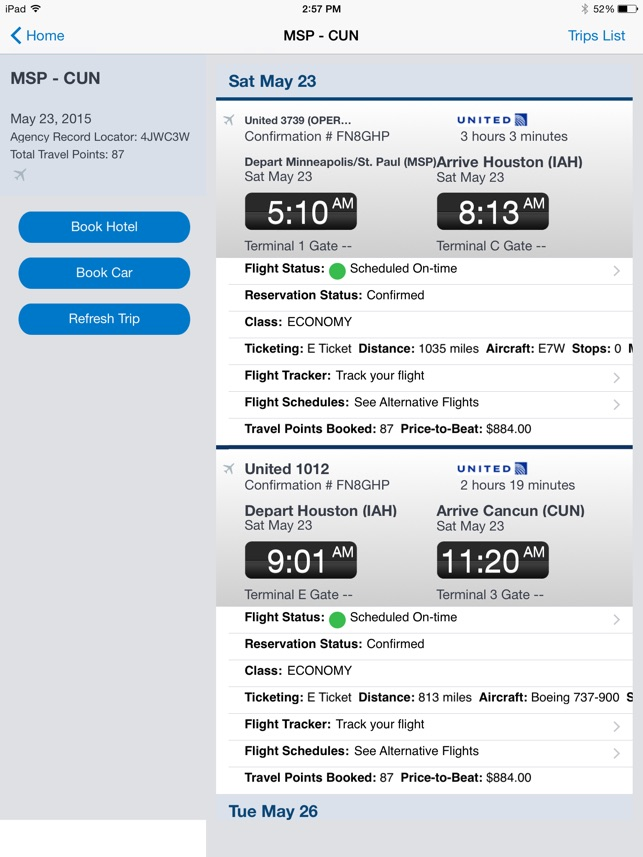 SAP Concur Screenshot