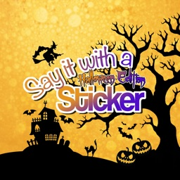 Say it with a Sticker: Halloween Edition