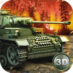 World War Tank Battle Game of Iron Tanks Invasion