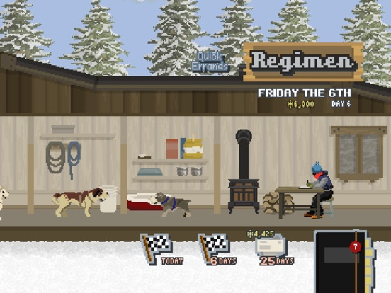 Screenshot #3 for Dog Sled Saga