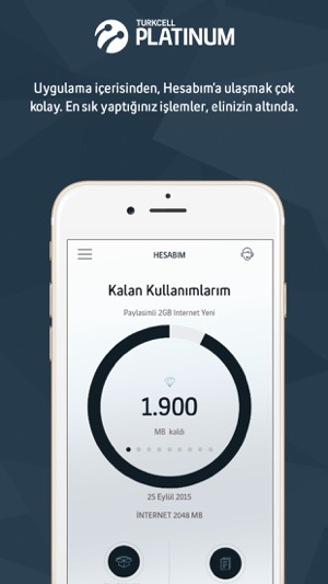 Turkcell Platinum Screenshot