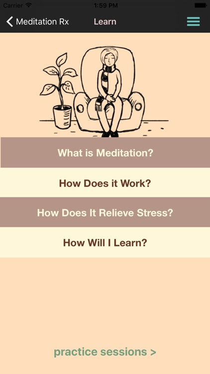 Meditation Rx - Relief for Patients & Families screenshot-3