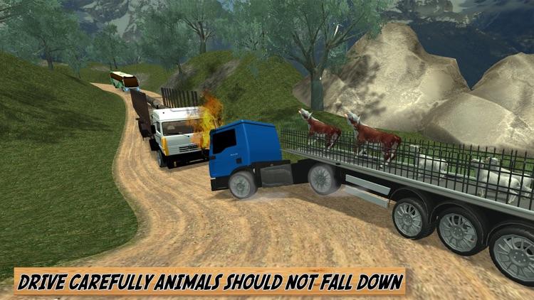 Off Road Farm Animal Transport 2016 screenshot-3