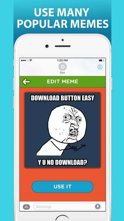 Ultimate Meme Maker for iMessage