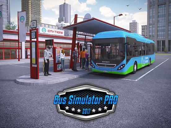 Bus Simulator PRO 2017 на iPad