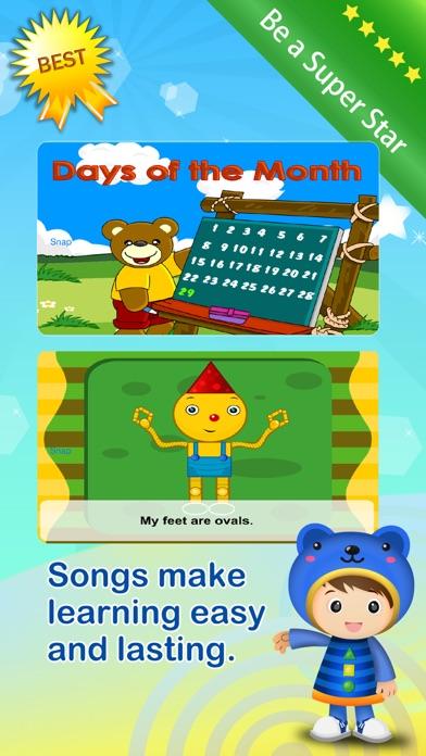 Baby ABC Numbers Math Nursery Rhymes Video Songs screenshot four