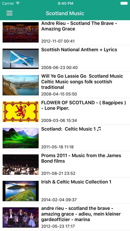 Irish Celtic Music & Scottish Folk Songs Free screenshot-4