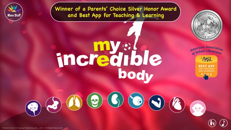 My Incredible Body - Guide to Learn About the Human Body for Children - Educational Science App with Anatomy for Kids screenshot-0