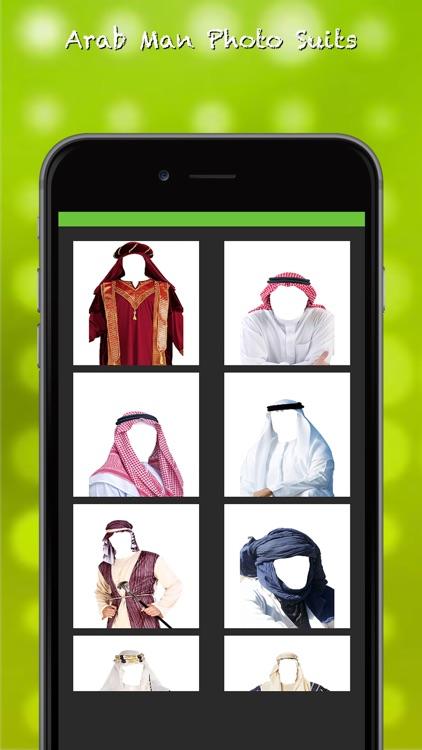Arab Man Suits Photo Montage screenshot-3
